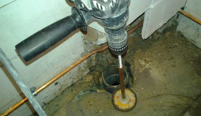 Comment réparer fuite WC suspendu ?