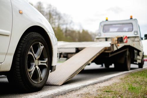 Comment se passe le remorquage parking sous sol voiture ?